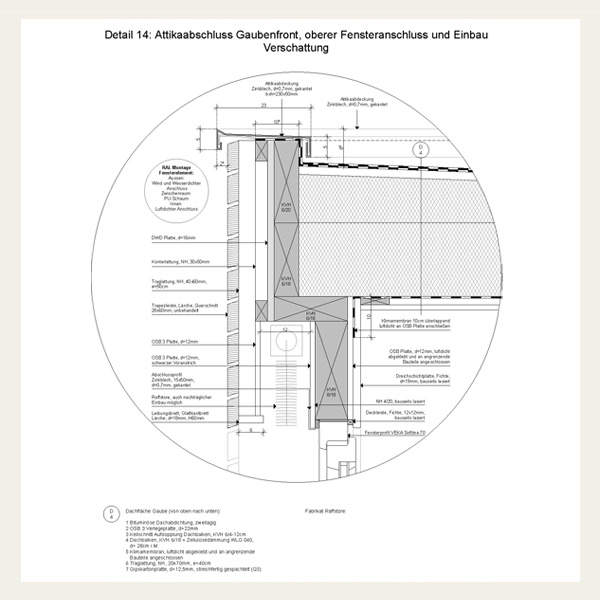 Umbau Und Energetische Sanierung Des Dachgeschosses