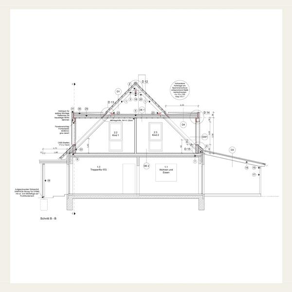 083 umbau und energetische sanierung des dachgeschosses eines wohnhauses architekt andreas. Black Bedroom Furniture Sets. Home Design Ideas
