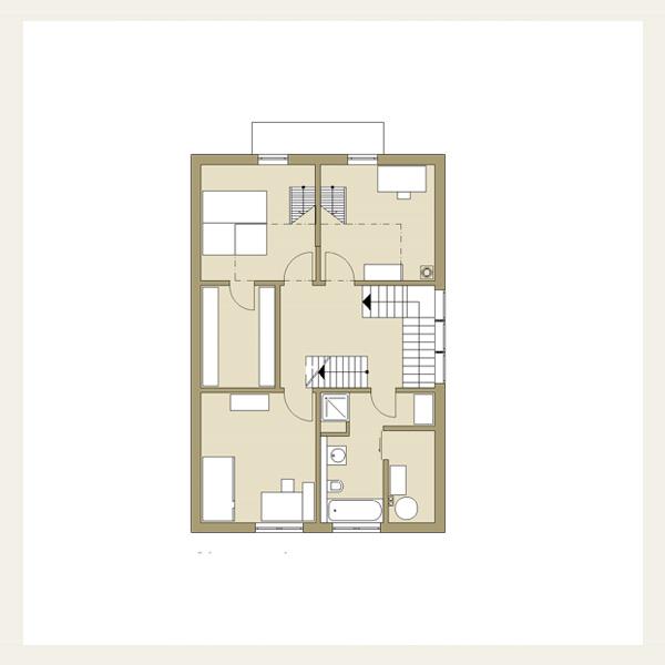 015 einfamilienhaus in holzrahmenbauweise architekt for Grundriss neubau einfamilienhaus