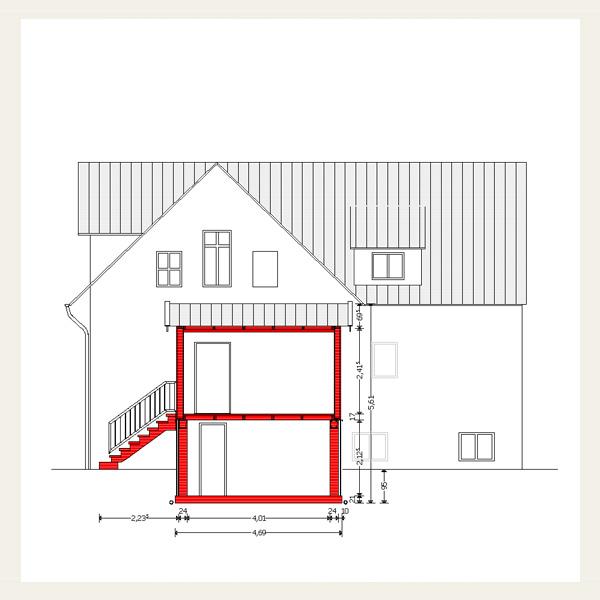 Energetische Sanierung Eines Zweifamilienhauses Mit