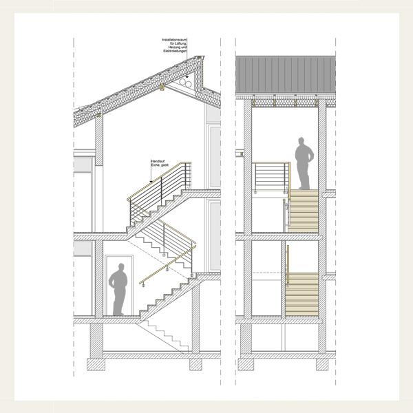 122 anbau umbau und energetische sanierung eines wohnhauses mit einliegerwohnung architekt. Black Bedroom Furniture Sets. Home Design Ideas