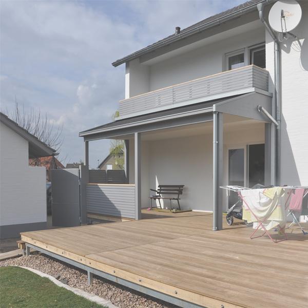 Best Terrassen Berdachung Mit Balkon Contemporary