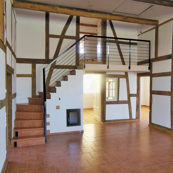 061 Umbau Und Sanierung Eines Vierstander Fachwerkhauses