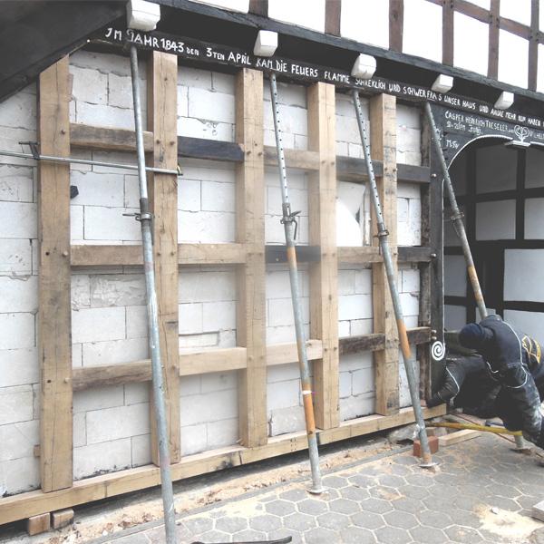 105 Zweistander Fachwerkhaus Teil 1 Sanierung Der Sanierung Von