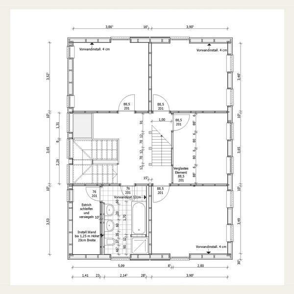 Neubau planen und bauen architekt andreas rehmert for Grundriss neubau einfamilienhaus